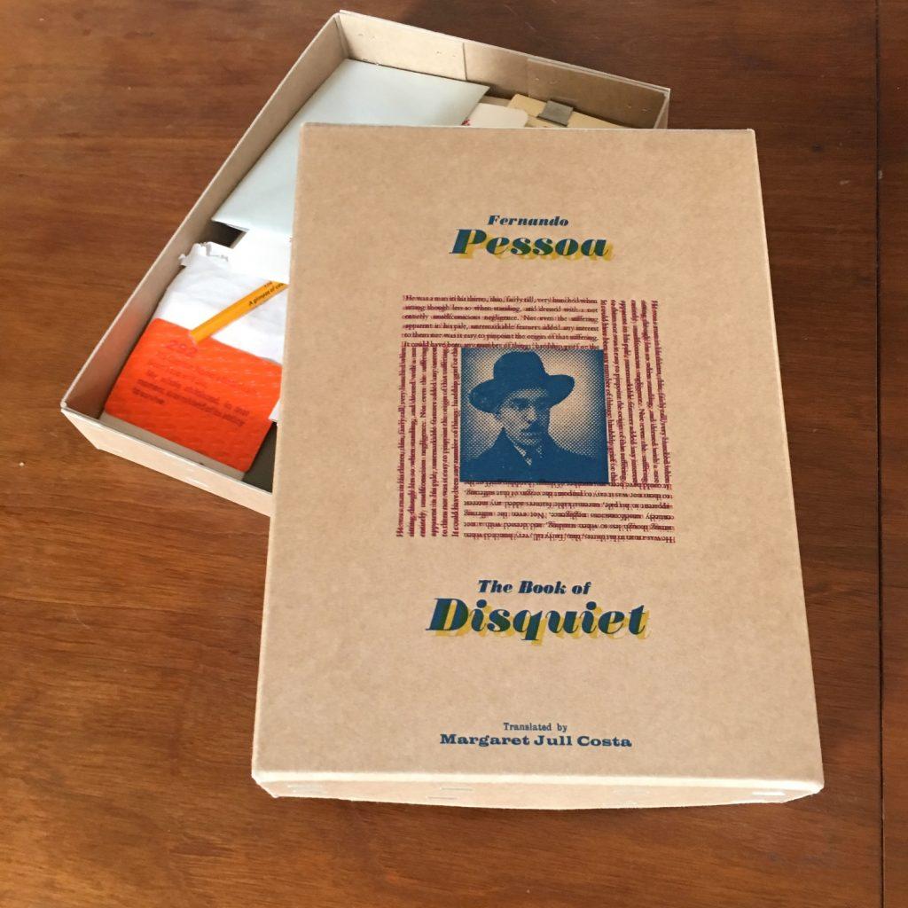 tim hopkins the book of disquiet by fernando pessoa - Book Of Colors